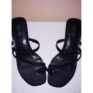 NIB Michael Kors LETTY  Logo Sandals 7M